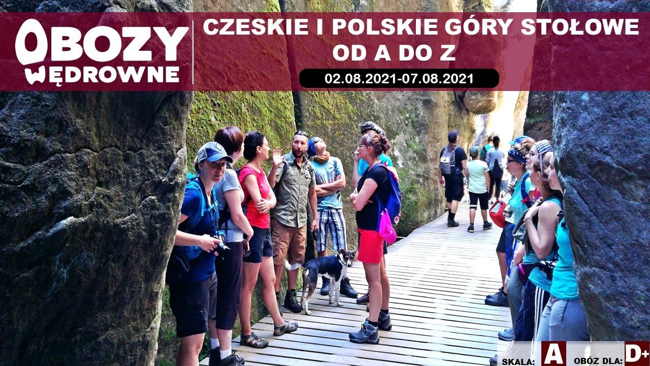 Czeskie i polskie Góry Stołowe od A do Z – edycja 1