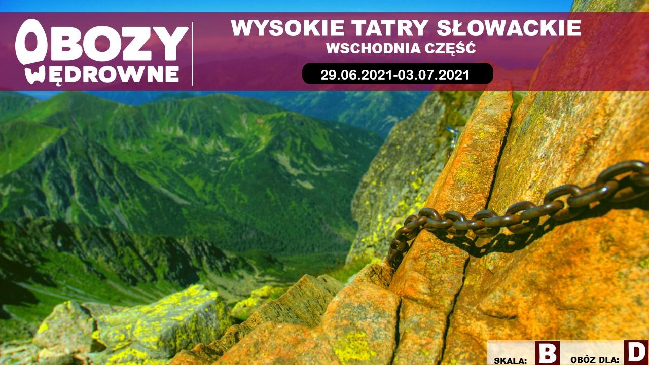 Wysokie Tatry Słowackie – wschód – edycja 1/2021