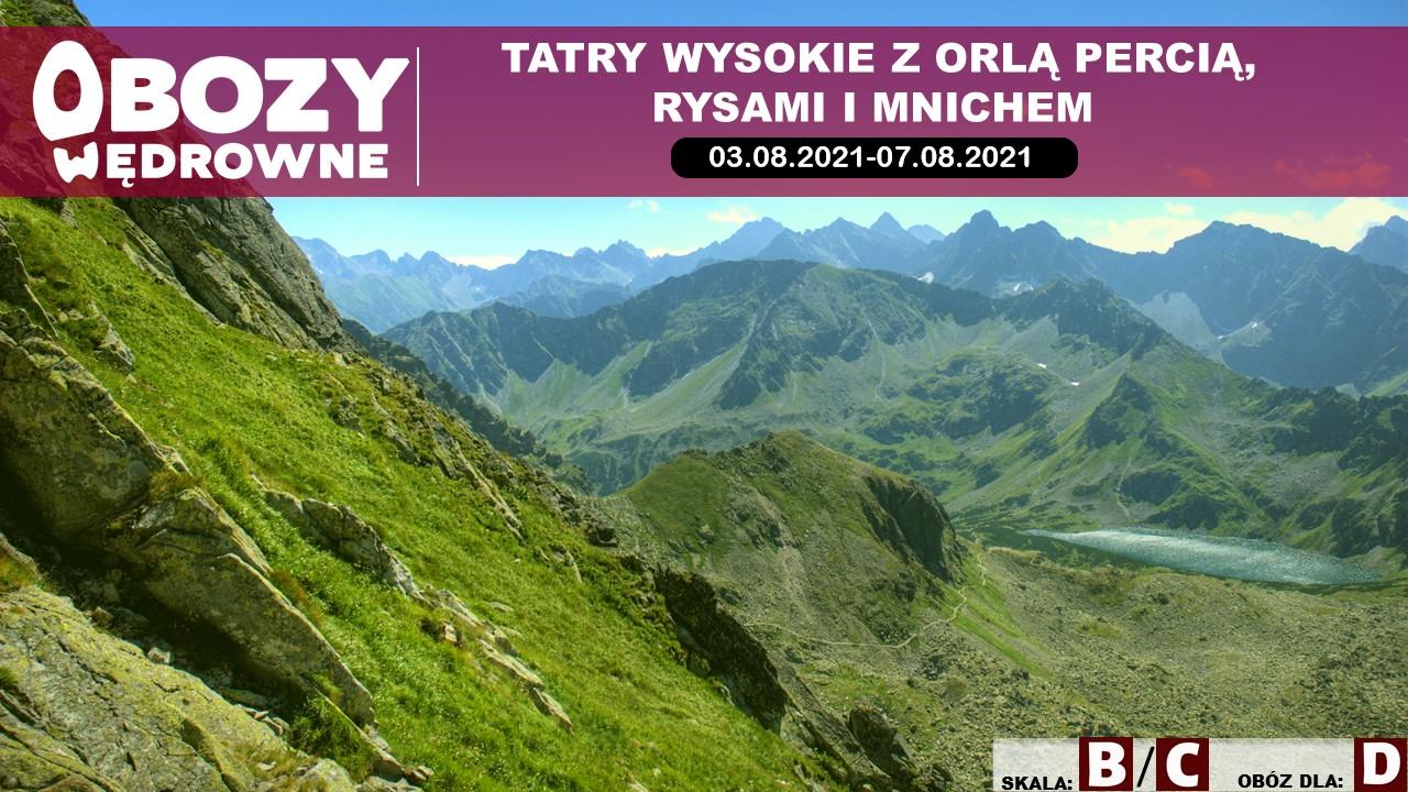 Tatry z Orlą Percią, Rysami i Mnichem – edycja 3/2021
