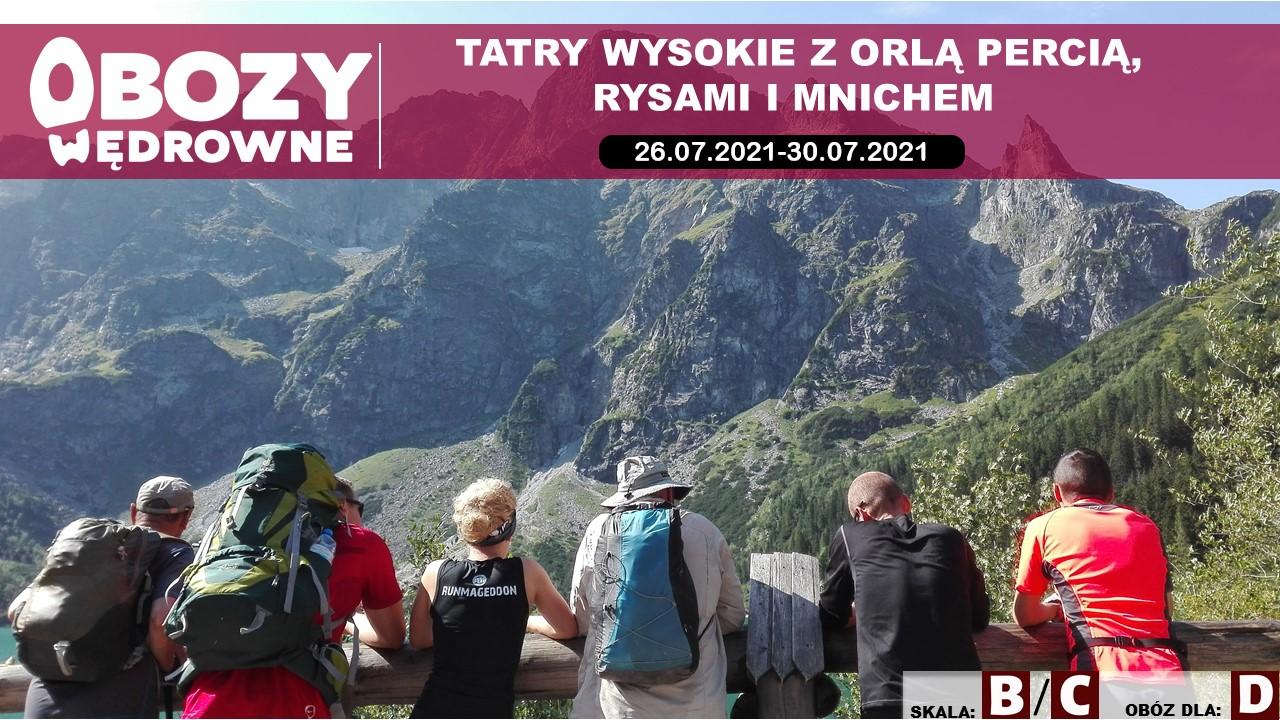 Tatry z Orlą Percią, Rysami i Mnichem – edycja 2/2021