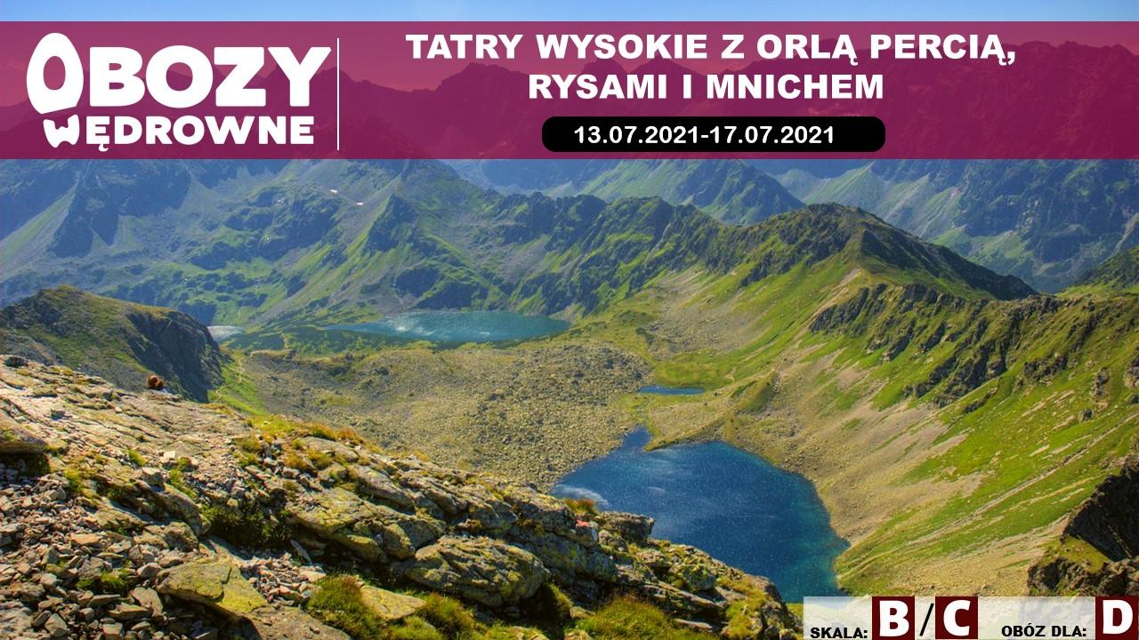 Tatry z Orlą Percią, Rysami i Mnichem – edycja 1/2021