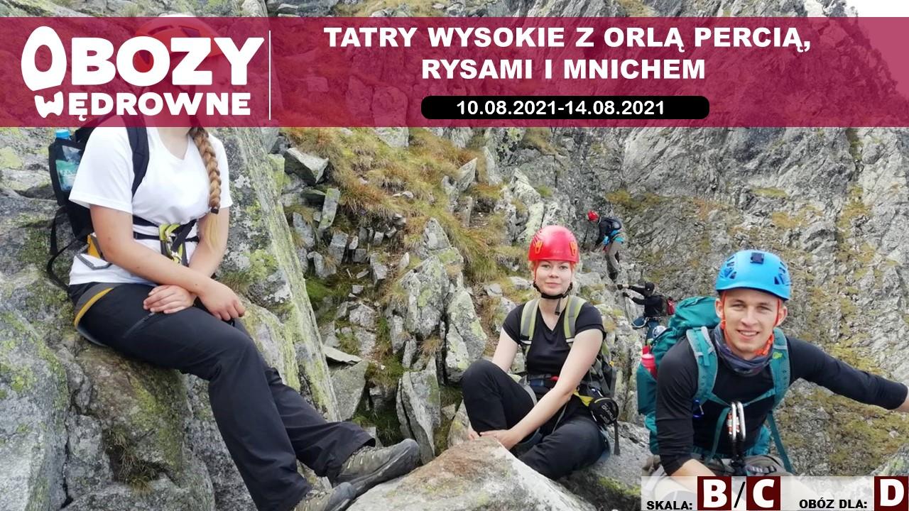 Tatry z Orlą Percią, Rysami i Mnichem – edycja 4/2021