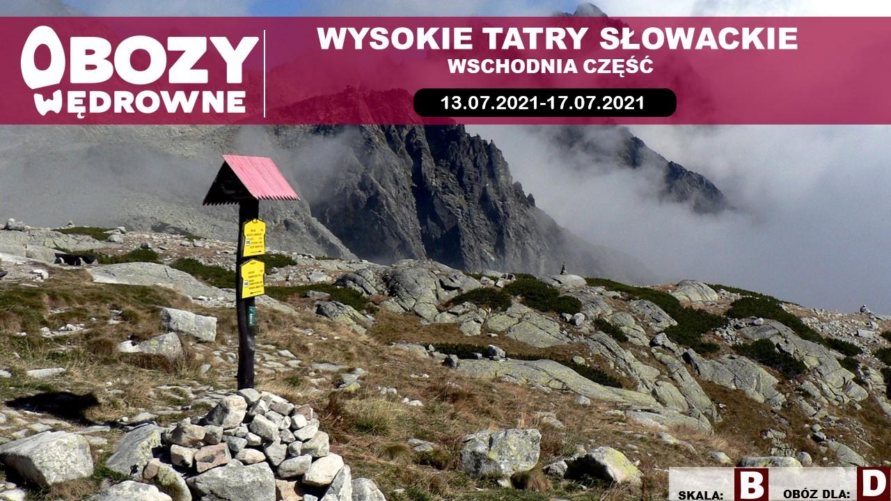 Wysokie Tatry Słowackie – wschód – edycja 2/2021