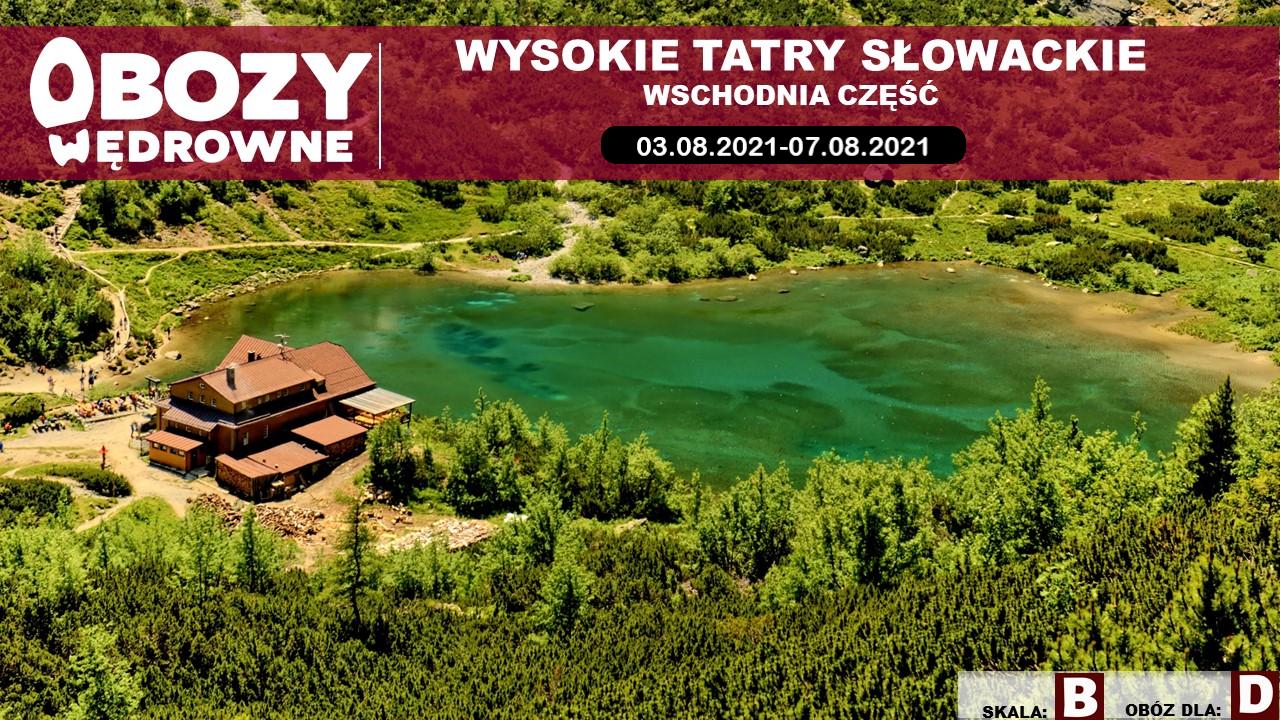 Wysokie Tatry Słowackie – wschód – edycja 3/2021