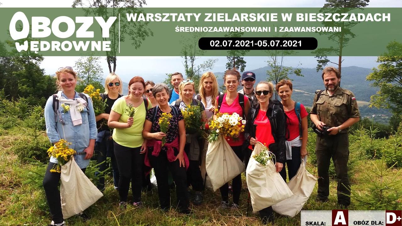 Warsztaty Zielarskie Bieszczady – edycja 1/2021