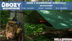obozy młodzieżowe survival