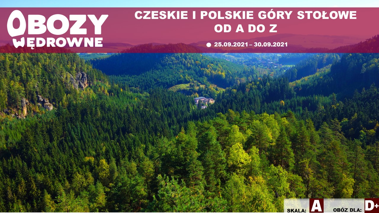 Czeskie i polskie Góry Stołowe od A do Z – edycja 2