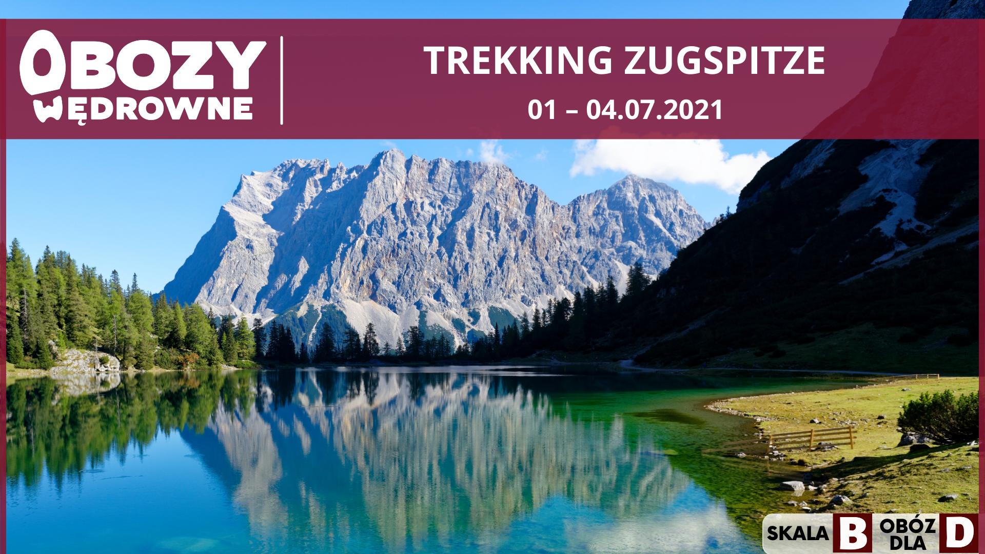 Trekking Alpy Bawarskie, w tym Zugspitze